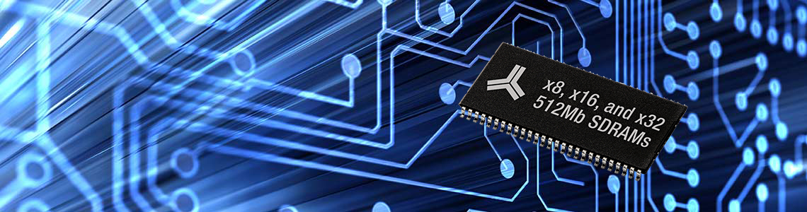 New x8, x16, and x32 512Mb Monolithic CMOS SDRAMs