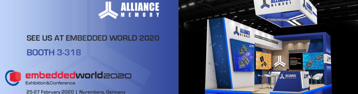 Visit Alliance Memory at Embedded World 2020