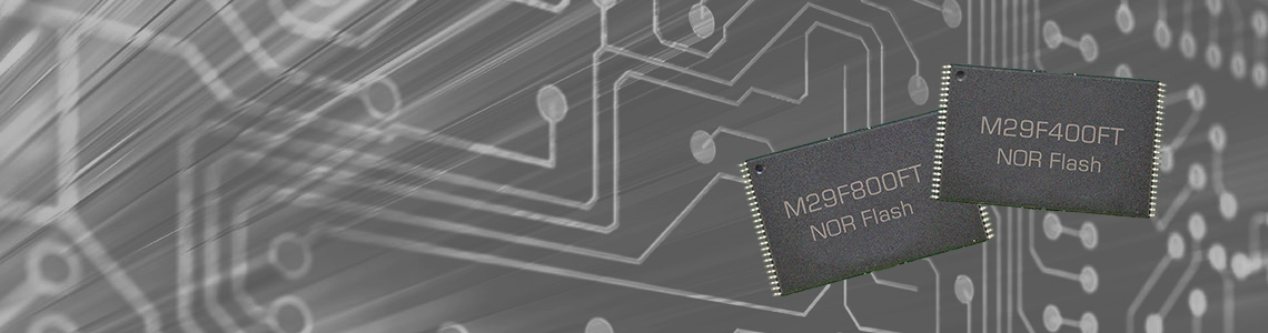 Micron M29F 5V NOR Flash Available Direct From Alliance Memory
