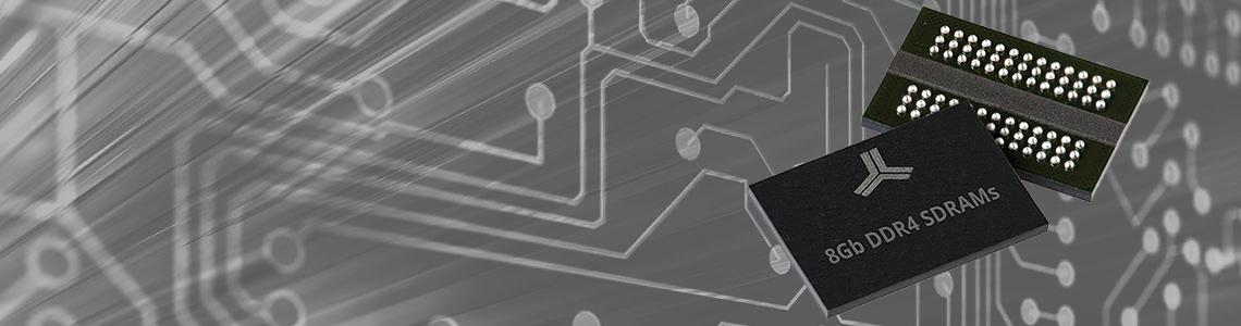 AS4C1G8D4 and AS4C512M16D4: New 8Gb High-Speed CMOS DDR4 SDRAMs