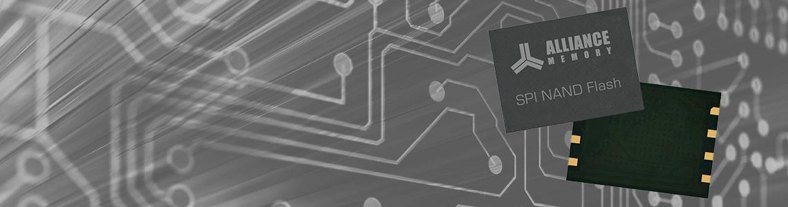 New 1.8V and 3V SPI NAND Flash Memory: Alliance Memory AS5F Series